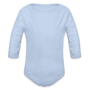 Baby Langarm Body Graphite - Baby Bio-Langarm-Body