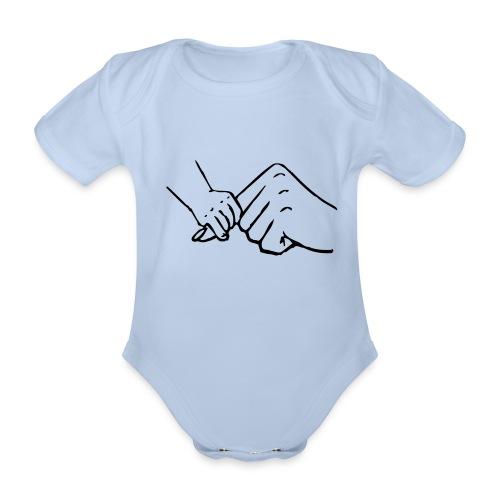 Body bebé manga corta manos - Body orgánico de maga corta para bebé