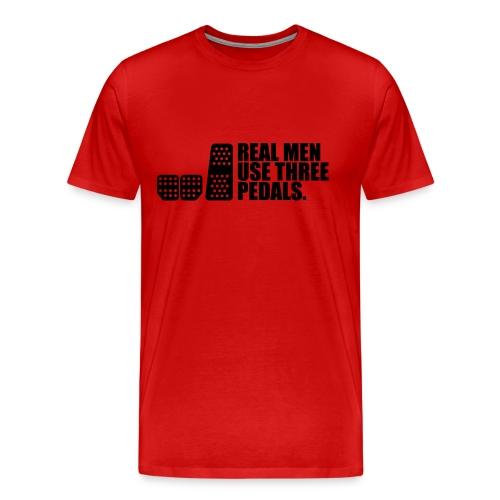 REAL MEN Shirt - Männer Premium T-Shirt