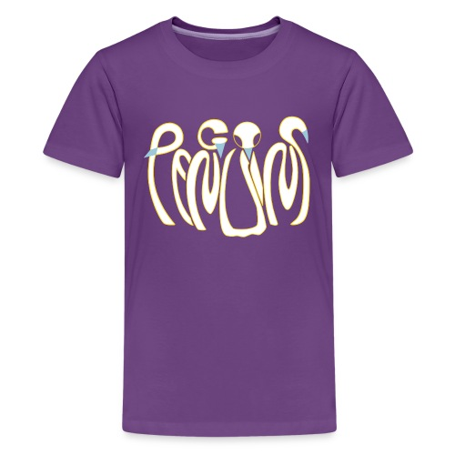 Teenage Purple Penguins Premium T-Shirt - Teenage Premium T-Shirt