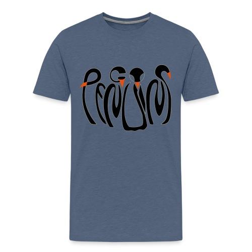Teenage Yellow Penguins Premium T-Shirt - Teenage Premium T-Shirt