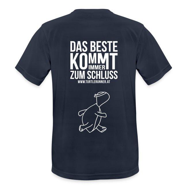 Motto-Laufshirt Men