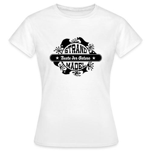 StrandWärmer_StrandMädel - Frauen T-Shirt