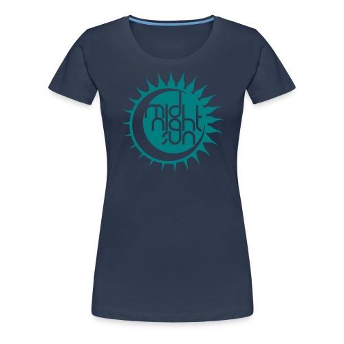 Midnight Sun 2014 - Frauen Premium T-Shirt