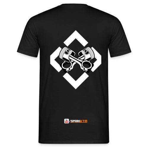 T-Shirt - Mehrfarbig (Männer) - Männer T-Shirt