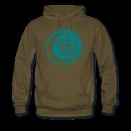 Pullover & Hoodies ~ Männer Premium Kapuzenpullover ~ Midnight Sun 2014