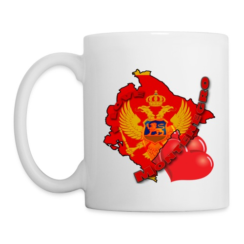 Šolja I LOVE MONTENEGRO - Mug