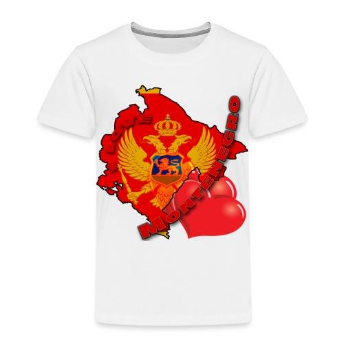 Dečija majica I LOVE MONTENEGRO - Kids' Premium T-Shirt