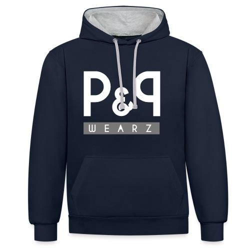 P&P Wearz Sweat Bi-colore For Him - Sweat-shirt contraste