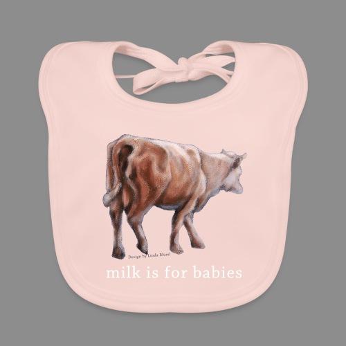 Milchkuh - Baby Bio-Lätzchen