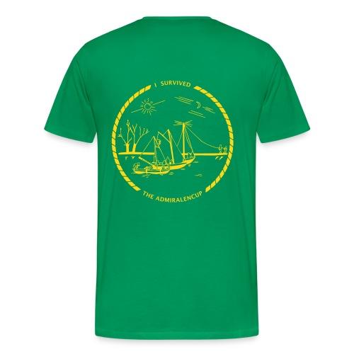T-shirt met logo (groen) - Mannen Premium T-shirt