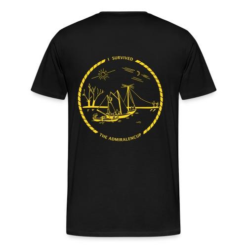 T-shirt met logo (zwart) - Mannen Premium T-shirt