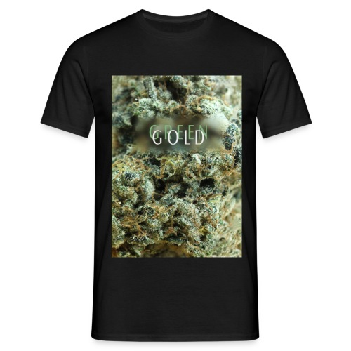 GOLD WEED BLACK SMOKE - T-shirt Homme