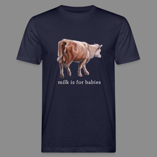Milchkuh - Männer Bio-T-Shirt