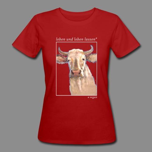 Heilige Kuh - vegan - Frauen Bio-T-Shirt