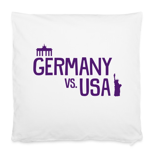 Germany vs. USA [classic] - Kissenbezug 40 x 40 cm