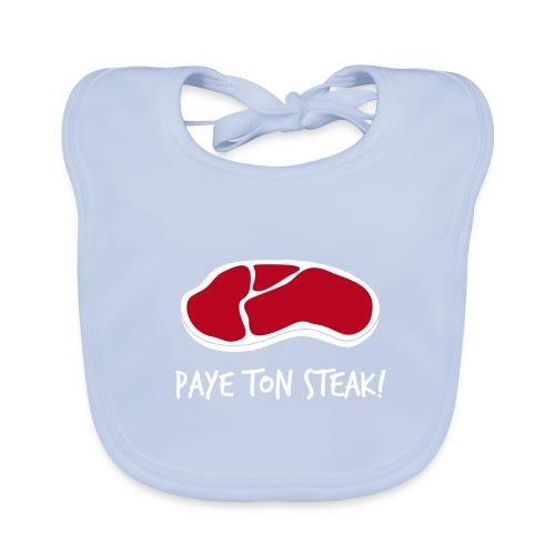 Steak pour bébé - Bavoir bio Bébé