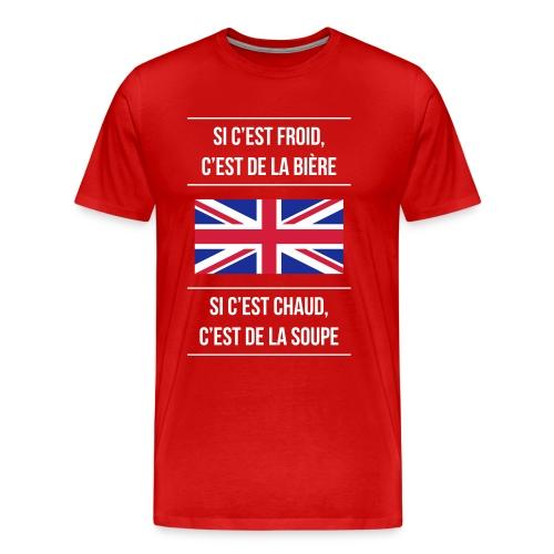 Cuisine anglaise - T-shirt Premium Homme