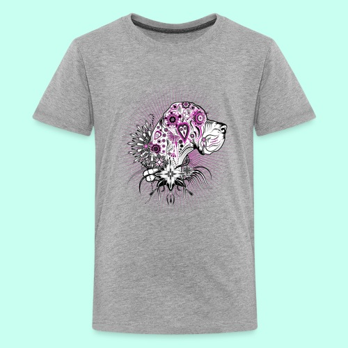 Doggenportrait Mexikanisch - Teenager Premium T-Shirt
