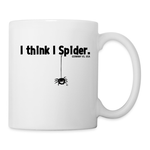 I think I spider - Tasse