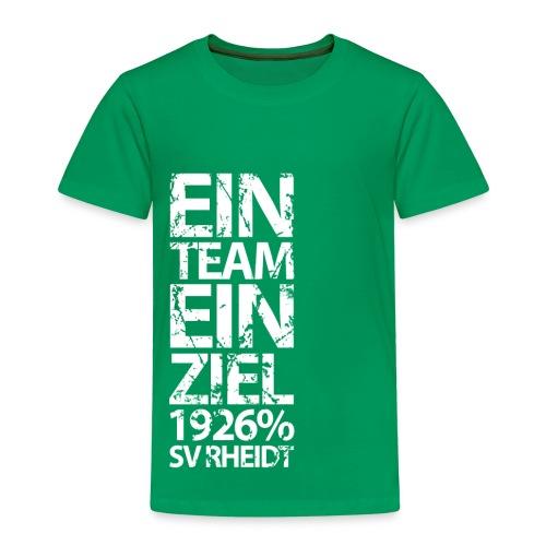 Ein Team, Ein Ziel (green) - Kinder Premium T-Shirt