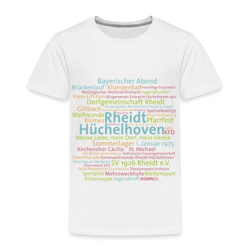 Rheidt-Hüchelhoven Cloud - Kinder Premium T-Shirt