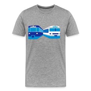 U-Bahn und S-Bahn München - Männer Premium T-Shirt