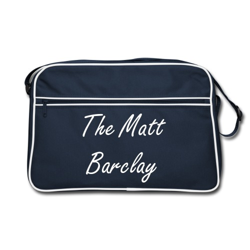The Matt Barclay - bag - navy - Retro Bag