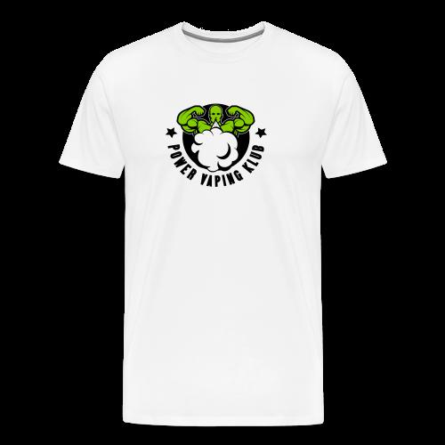 POWER VAPING KLUB - 2 couleurs - T-shirt Premium Homme