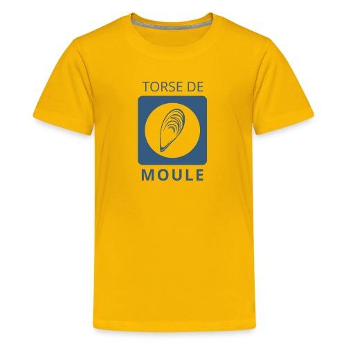 Torse de moule ado premium - T-shirt Premium Ado