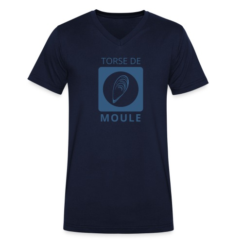 Torse de moule homme col V - T-shirt bio col V Stanley & Stella Homme