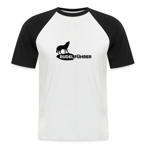 Rudelführer Wolf Alphatier Leitwolf Papa T-Shirts - Männer Baseball-T-Shirt
