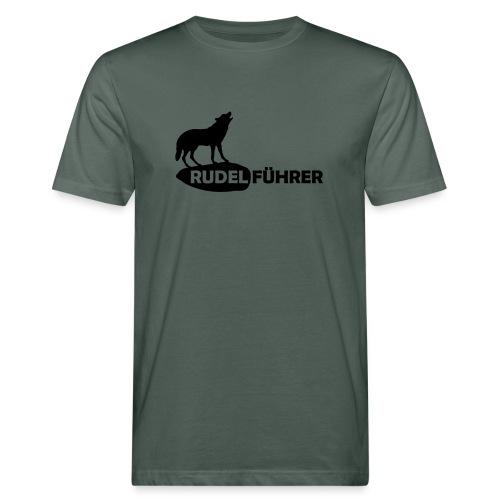Rudelführer Wolf Alphatier Leitwolf Papa T-Shirts - Männer Bio-T-Shirt
