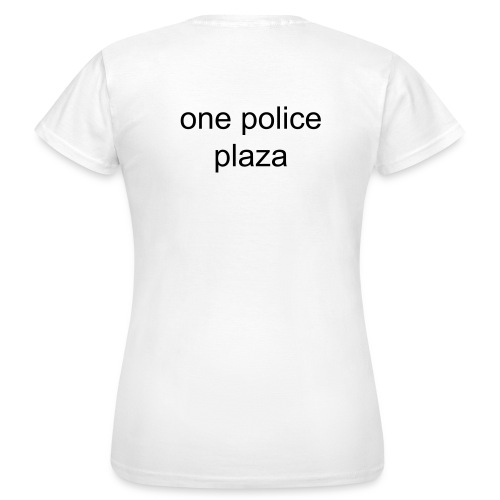 one police plaza - T-shirt Femme