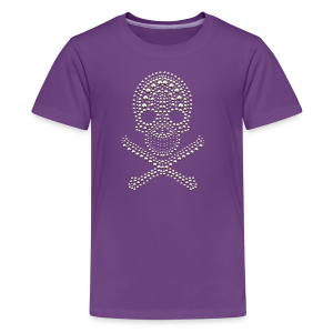 Skull - cool Design - Teenager Premium T-Shirt
