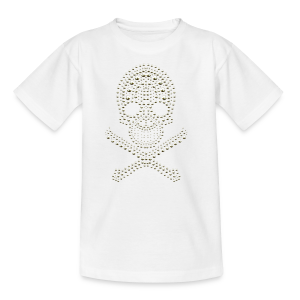 Skull - cool Design - Teenager T-Shirt