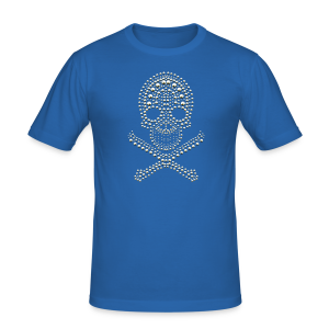 Skull - cool Design - Männer Slim Fit T-Shirt