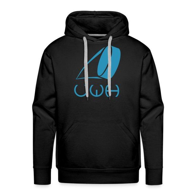 UWH Logo. Mens Hoodie - (LogoBlue - frt/lg)
