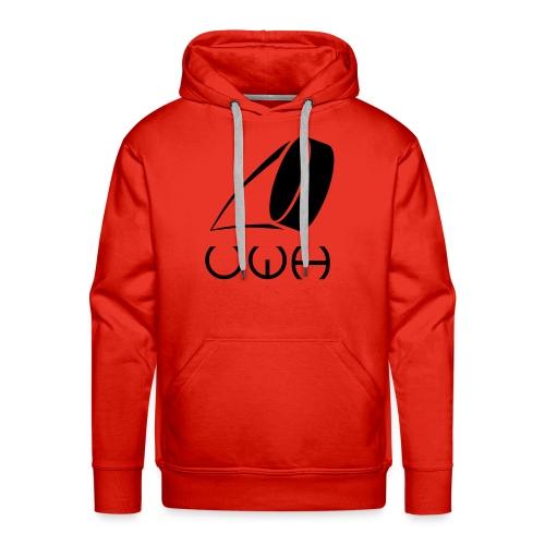 UWH Logo. Mens Hoodie - (LogoBlack - frt/lg) - Men's Premium Hoodie