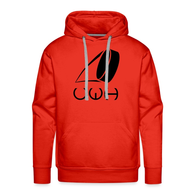 UWH Logo. Mens Hoodie - (LogoBlack - frt/lg)