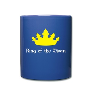King of the Divan - Tasse en couleur