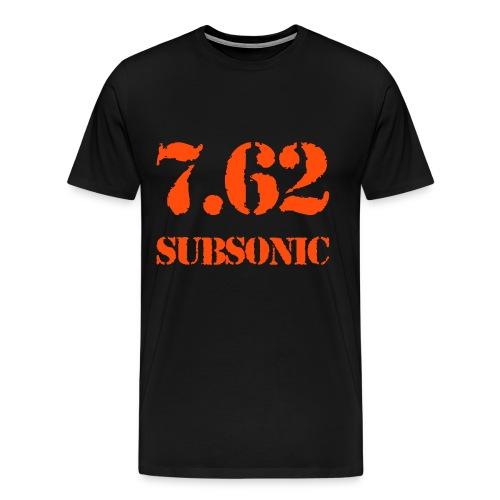 Maglietta calibro 7.62 Subsonic - Maglietta Premium da uomo
