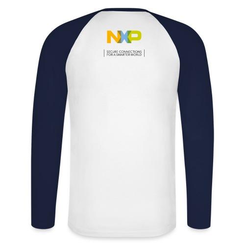 Männer Baseballshirt 'Secure Connections' - Männer Baseballshirt langarm