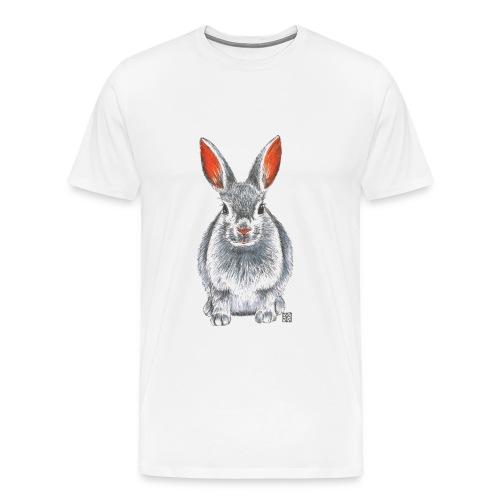 Herren T-Shirt *Hase* - Männer Premium T-Shirt