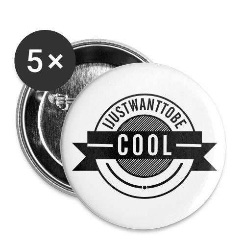 Små knappar 25 mm IJWTBC - Små knappar 25 mm (5-pack)