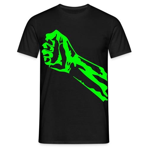 poing hulk - T-shirt Homme