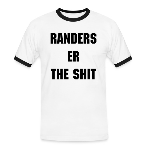Randers er the Shit - Herre kontrast-T-shirt