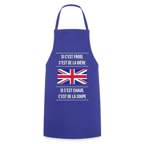 Cuisine anglaise - Tablier de cuisine