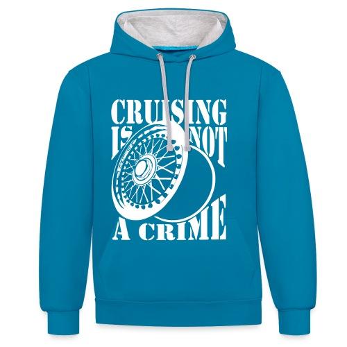 Cruising Hoodi - Kontrast-Hoodie