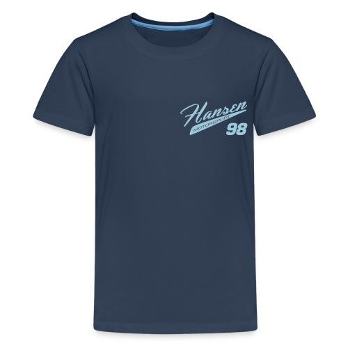 Hansen Motorsport Vintage T, Kids - hellblau - Teenager Premium T-Shirt